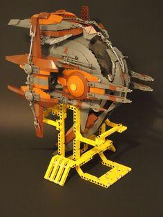 [MOC] INVICTUS - Spaceship War - Finalizada - Comunidade de fãs de LEGO em Portugal