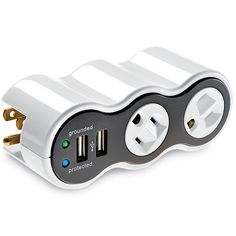 This miniature travel swivel socket will come in handy while traveling.