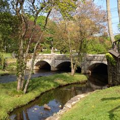 Bridge in Milford, CT next to City Hall