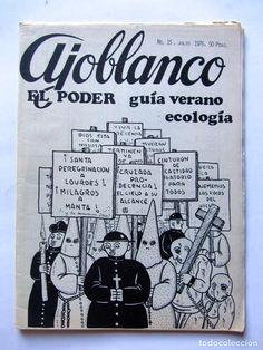 Coleccionismo de Revistas y Periódicos: AJOBLANCO LOTE DE 28 REVISTAS (1975/1977/1978+ NUEVA ÉPOCA (1988/1992)VER FOTOS Y DESCRIPCIÓN - Foto 10 - 67251977