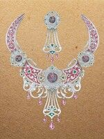 Shinde's Art- N- Design Jewelry Illustration, Crochet Earrings