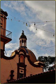 Templo San Salvador,Barrio San Salvador o de Jesús,San Luis Tehuiloyocan,San Andres Cholula,Estado de Puebla,México