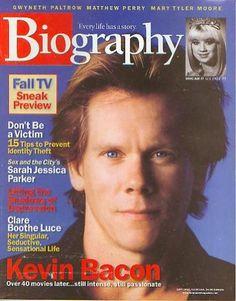 Biography Magazine: September 2002 - Kevin Bacon