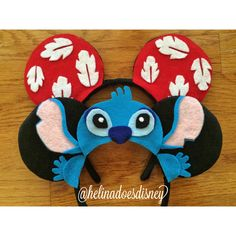 Lilo and Stitch Custom Minnie Mouse Ears