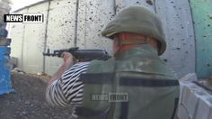 18+! Эксклюзив от бойцов армии ДНР. Широкино ровняют с землей. Съемка во...
