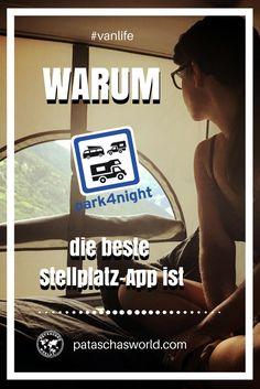 Park4night ist die ultimative Stellplatz-App für Vanlifer! Warum erfährst du hier | Patascha's World