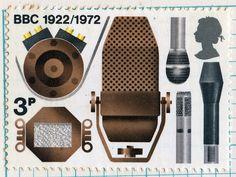 bbc postage stamp 13 Sept 1972