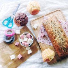 手作りお菓子交換便用に作ったお菓子たち♩ ・ +紅茶のパウンドケーキ +オレンジマフィン +オレンジココアマフィン +自家製いちごのギモーヴ +蜜入りりんごのギモーヴ ・ 素朴だけど素材の味がしっかり◎ 喜んでもらえてよかった*♡·͡˔·ོᵔ̩̩͔·͡˔·♡* - 28件のもぐもぐ - 手作り便のお菓子たち♩ by cafe053