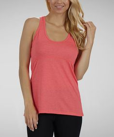Take a look at this Pink Racerback Tank by Marika on #zulily today!