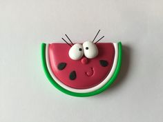 Paola Gualandris shares how she create her adorable figurines! A summer cutie, this Happy Watermelon!
