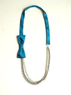 bow-tie necklace