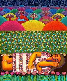 Teaching Art, Art Projects, Mexico, Rain, Paintings, Woman, Santiago, Rain Fall, Paint