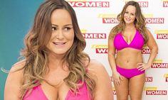 Chanelle Hayes strips to a bikini on Loose Women