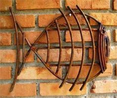 Funny customized metal weld ideas my site Welding Art Projects, Metal Art Projects, Metal Crafts, Welding Tips, Metal Art Sculpture, Fish Sculpture, Metal Yard Art, Scrap Metal Art, Metal Fish
