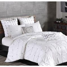 Maison White Duvet Cover Set