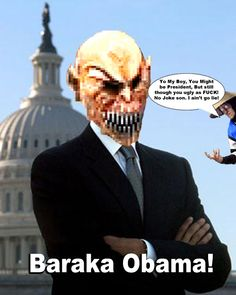 Mortal Kombat Baraka Obama | Baraka Obama Mortal Kombat DASHIEXP Fan made Pic by ~AwesomeQman on ...