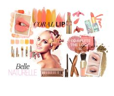 """""""Coral Sensation"""" by helenastone on Polyvore featuring beauty, MAKE UP STORE, Benefit, Yves Saint Laurent, Elizabeth Arden, Hourglass Cosmetics, Burberry, Clarins, Guerlain and Illamasqua"""
