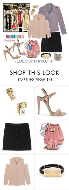 """""""Style Rebecca Minkoff's Collection!"""" by westcoastcharmed ❤ liked on Polyvore featuring Rebecca Minkoff, Essie, women's clothing, women, female, woman, misses, juniors, contestentry and seebuywear"""