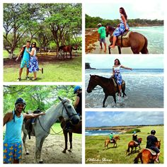 Horse riding in St.Lucia Www.mytravelation.com  Www.atlanticridingstables.com