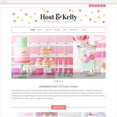 46 best chic wordpress themes images on pinterest website themes