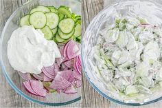 This German cucumber salad is easy, creamy and good. You'll be surprised how simple the ingredients are for this creamy cucumber salad; German Cucumber Salad, Creamy Cucumber Salad, Creamy Cucumbers, Tomato Salad, Avocado Salad, Cucumber Detox Water, Toxic Foods, Protein Diets, Whey Protein