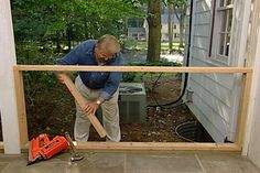 garage remodel How to Make a 4 Season Room from a Porch Send Your Loved One Flowers. Article Body: V Three Season Porch, Three Season Room, Enclosed Porches, Decks And Porches, Screened Porches, Enclosed Decks, Closed In Porch, Gazebo, Porch Enclosures