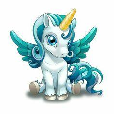 50 Ideas drawing cute unicorn kawaii for 2019 Unicorn Fantasy, Unicorn Horse, Unicorn Art, Magical Unicorn, Cute Unicorn, Unicorn Outfit, Rainbow Unicorn, Chibi Unicorn, Magical Creatures