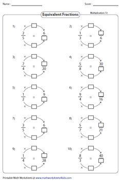 La hoja de ejercicios de Simplificar Fracciones (Fácil) (A