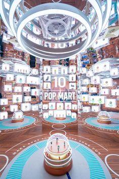 潮酷冒险岛主题快闪店展览活动策划洋溢着工业美学-会展活动策划 Mall Design, Retail Design, Store Design, Exhibition Stall, Exhibition Stand Design, Display Design, Booth Design, Retail Concepts, Environmental Design