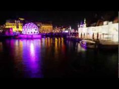 """""""Water Colors, boatroute, and the Illuminade, walking route!"""" Een prachtige timelapse van de Amsterdam Light routes."""