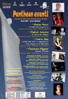 PANTHEON EVENTI – PROGRAMMA COMPLETO – ORANI – 13 OTTOBRE-14 DICEMBRE 2013