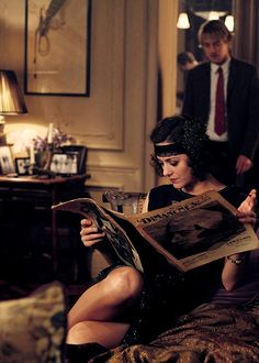 """- You're in love with a fantasy. - I'm in love with you."" - Midnight in Paris"