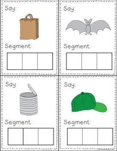 Phonemic Awareness Task Cards - was a FREEBIE but isn't now.....