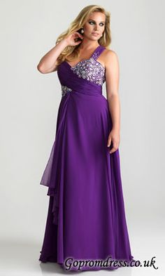 a643ebbc255 Plus Size 2013 Purple Yellow One shoulder Chiffon EmpireEvening Dress Prom  Party Formal Dresses Gown