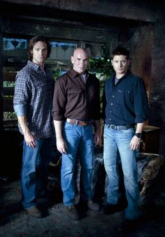 Sam, Grandpa Samuel Campbell, and Dean