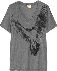 Embellished Modal T-shirt