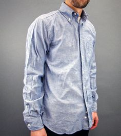 Heritage Chambray - $85 this would look so good on Zach!