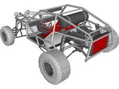 Rock Crawler Chassis, Tube Chassis, Go Kart Buggy, Off Road Buggy, Karting, Go Kart Parts, Nissan Terrano, Atv Car, Diy Go Kart