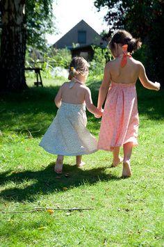 brown and cream halter dress by jazzlah Nice Dresses, Summer Dresses, Halter Maxi Dresses, Cream, Brown, Fashion, Creme Caramel, Moda, Cute Dresses