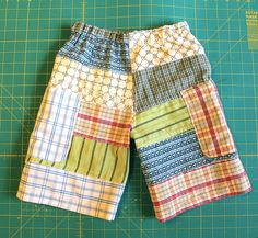 patchwork shorts by Rae