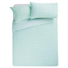 £12 Tesco Basic wave duvet set - use just pillowcases