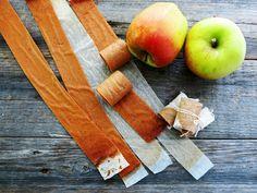 Antipastaa: Yhden raaka-aineen makeiset eli omenanauhat (munat...