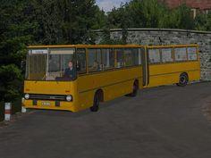 Ikarus 280 Überlandbus mit Tauschtextur