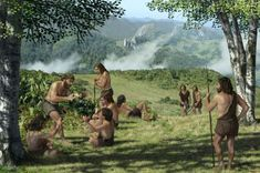 Scientists reveal the truth on how humans beat Neanderthals and conquered Earth Prehistoric World, Prehistoric Creatures, Primitive Technology, Early Humans, Primitive Survival, Stone Age, Anthropology, Ancient History, Archaeology