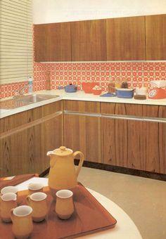 50s Kitchen, Retro Kitchens, Vintage Interior Design, Deco, Space Age, Google, Image, Home, Decor