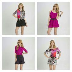 Estampa ou sobriedade? Camisa ou vestido? Conte pra gente, qual composição faz mais o seu estilo?  #Diversosestilos #oufashion #teen #dica