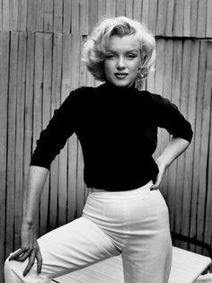 Marilyn Monroe turtle neck