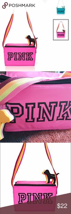VS Pink cooler brand new with tags not going to use it. need gone asap i do bundles if you're interested in any of my other items!  happy poshing! PINK Accessories