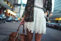 white+lace+military