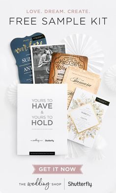 Searching For The Perfect Wedding Invitation Design Feel Quality Firsthand With A FREE Sample